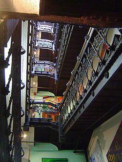 Les escales de l'Hotel Chelsea,situat al barri de Chelsea a l'illa de Manhattan a Nova York