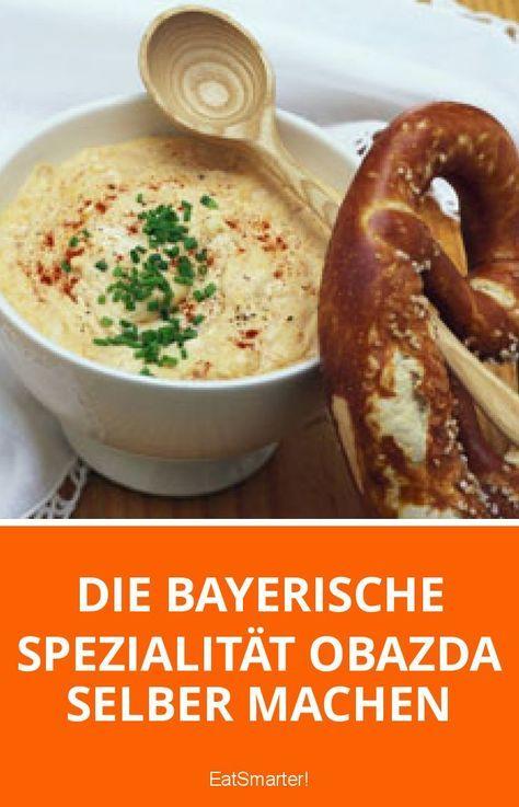 Die bayerische Spezialität Obazda selber machen #butterbierrezept