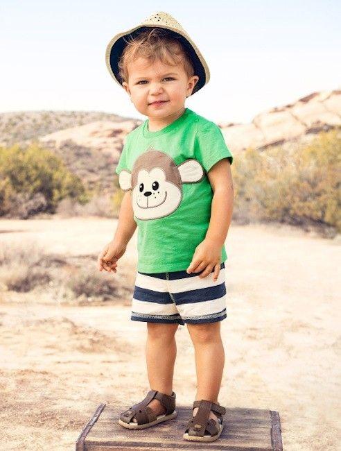 daebb1424 Moda Primavera Verano 2014 para bebés y niños  ropa playera para ...