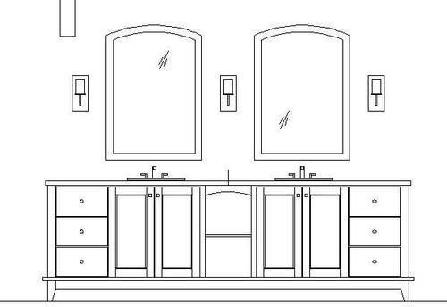 Bathroom Vanity Elevation Drawings S 8d3b219fa19f2073 Jpg 500 344 Bathroom Vanity Vanity Elevation Drawing