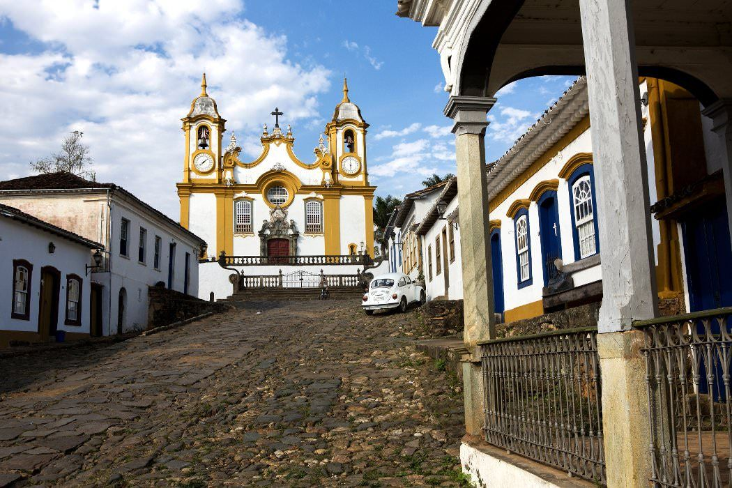 Tiradentes (MG) - Igreja Matriz de Santo Antônio www.italianobrasileiro.com