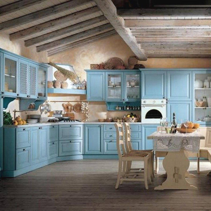 10 Beautiful Shabby Chic Style Kitchen Ideas You Can Do Yourself For ...
