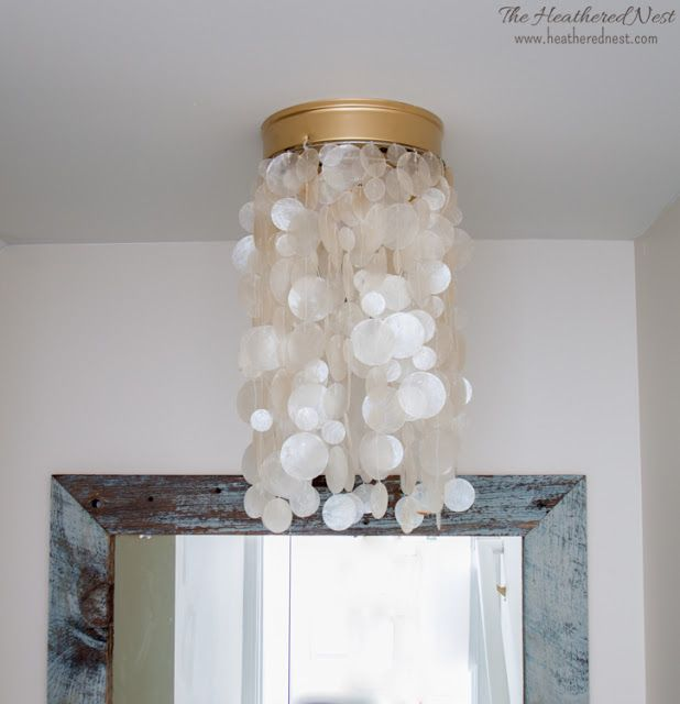 2 Diy Light Fixtures Tutorials To Modernize Flush Mounts Ban The S Builder Grade Tutorial And