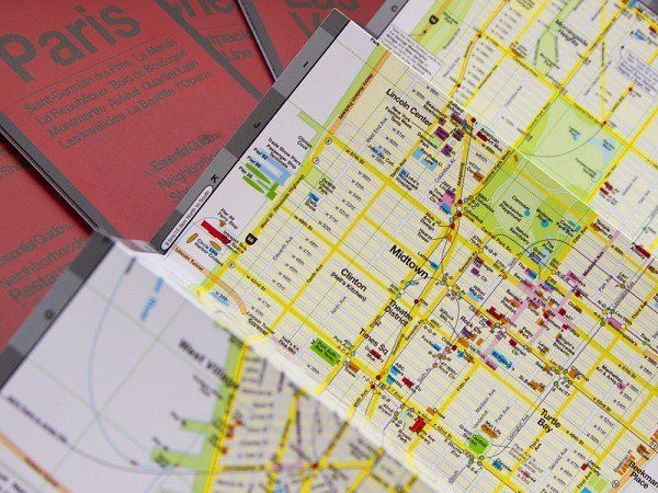 Trip Planner Maps by Red Maps   Neat Products   Pinterest   Trip planner Trip Planner Maps by Red Maps