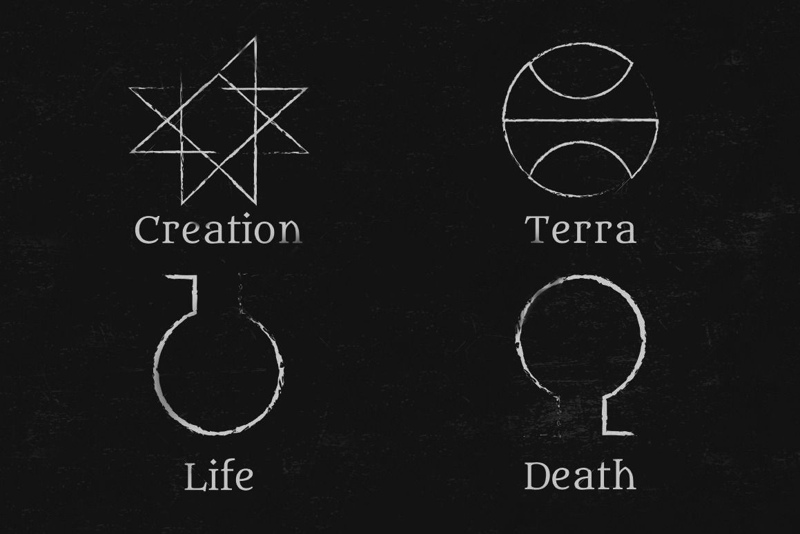 Image Result For Alchemy Symbol For Life And Death Tattoos