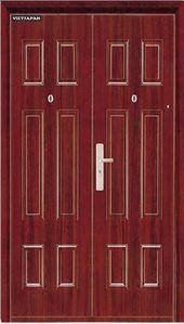 Edis 133 solid wood door- Cửa thép vân gỗ edis 133 Edis 133 …
