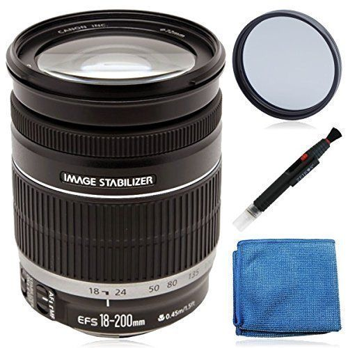 Canon Ef S 18 200mm F 3 5 5 6 Is Stan Zoom Lens Best Canon Camera Digital Slr Camera