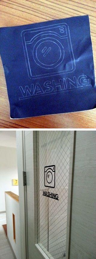 도어 사인 [ door sign ]