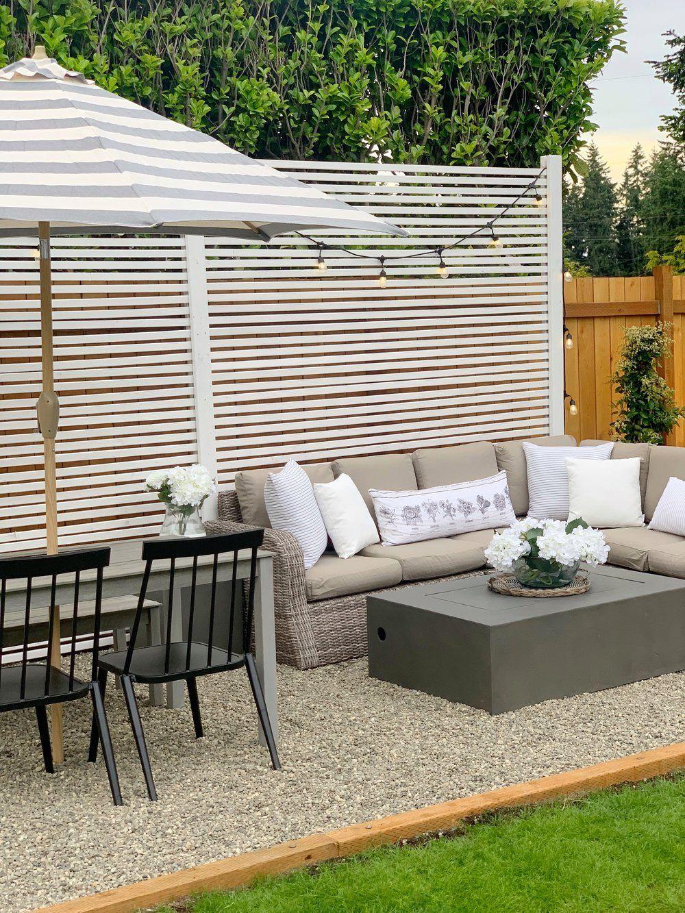 Outdoor Makeover Backyard Outdoor Patio Decor Bed Bath And Beyond