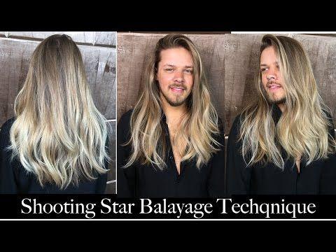 Http Www Youtube Com Watch V H6r6go1tes0 Balayage Long Hair Balayage Technique Balayage