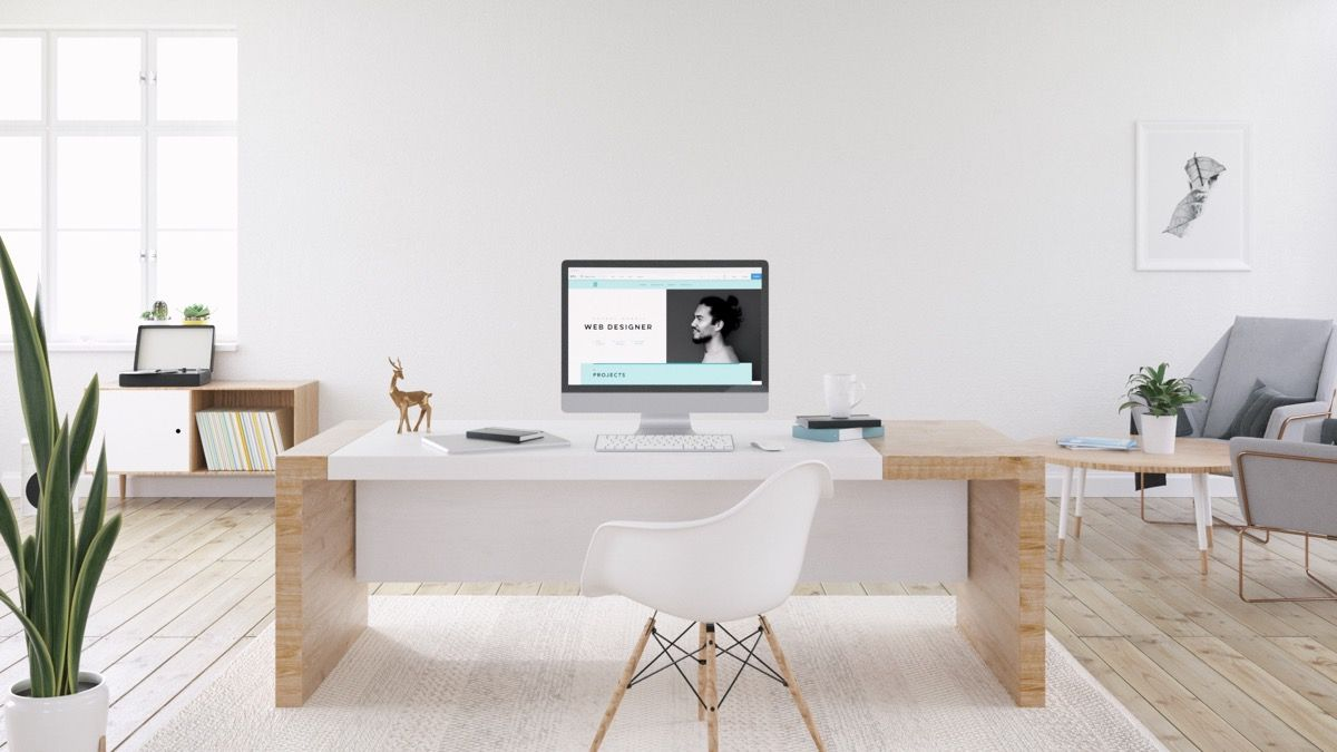 37 Minimalist Home Offices That Sport Simple But Stylish Workspaces Home Office Design Minimalist Home Apartment Decorating On A Budget
