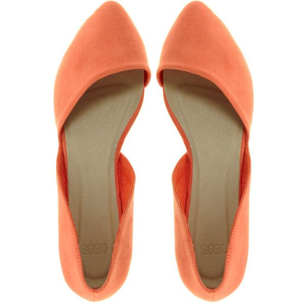 6b72437a9c0 ASOS LINK Pointed Ballet Flats