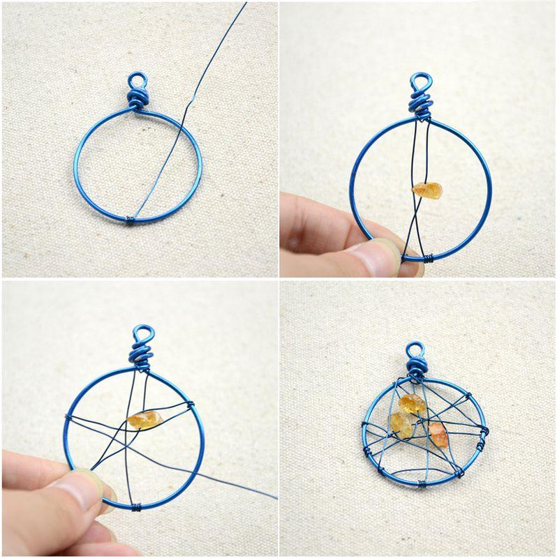 Unique Handmade Jewelry Diy Dreamcatcher Earrings In 3 Simple ...