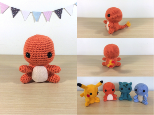 Scorbunny, Sobble, and Grookey Amigurumi! You can get the pattern ... | 375x500