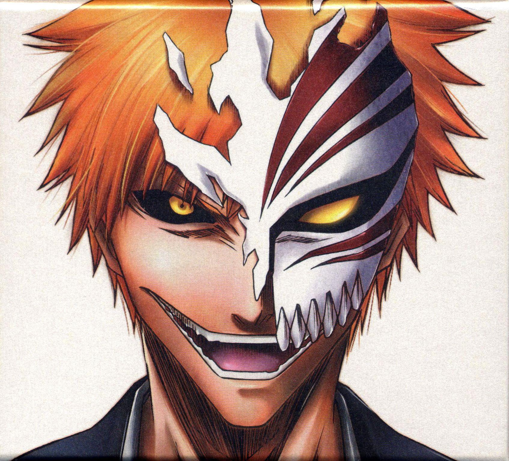 Bleach Wallpaper Ichigo Hollow Mask Ichigo hollow mask