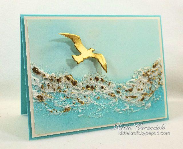 Splitcoaststampers FOOGallery - Gold Crusted Sea Foam