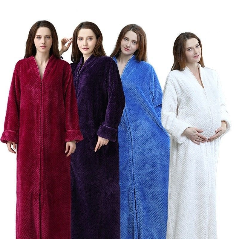 338e9bdf81e New Unisex Flannel Bath Robe Soft Warm Bathrobe Couple Sleepwear Bath  Pajamas #fashion #clothing #shoes #accessories #womensclothing  #intimatessleep
