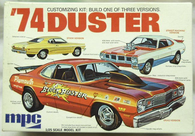 MPC 1/25 1974 Plymouth Duster - Stock / Street Machine