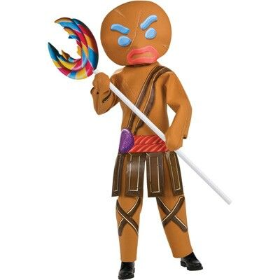 Gingerbread man warrior Heh Random acts of awesome Pinterest - halloween costumes ideas for men