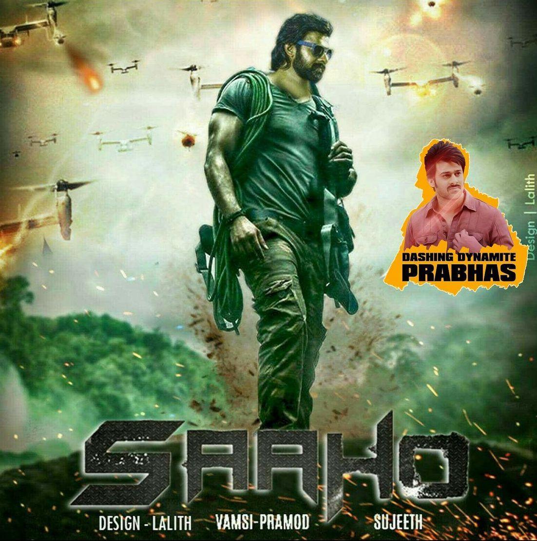 Saaho Poster Movie Wallpapers Movie Posters Prabhas Pics