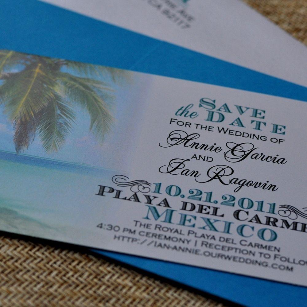 Custom Made Design Fee Boarding Pass Invitation Or Save