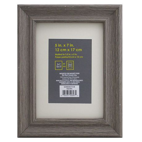 Uniek Sausalito Frame 5 X7 Matted To 3 5 X5 Grey Frame Sausalito Collage Picture Frames