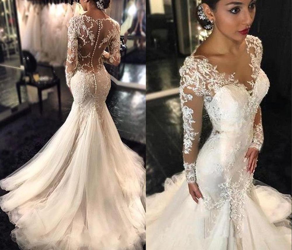 Weiß Abendkleid Ballkleider Brautkleid Hochzeitskleid Meerjungfrau