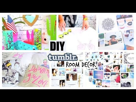 Diy Tumblr Pinterest Inspired Room Decor You Need To Try Youtube With Images Tumblr Room Decor Diy Room Decor Tumblr Christmas Room Decor