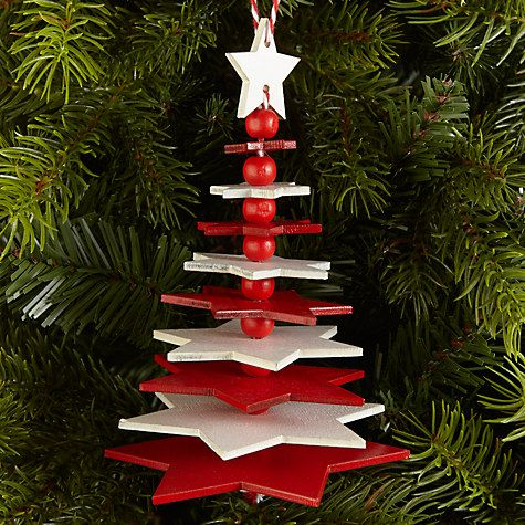 buy john lewis chamonix star flexi tree decoration online at johnlewiscom