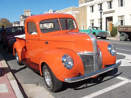 Classic Ford Truck by V8 Power, via Flickr