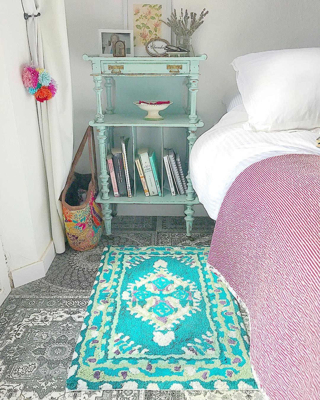 Resulta ser que me compré online una alfombra para el baño ...