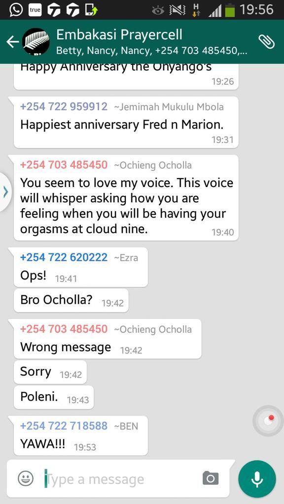 groupe sexe whatsapp