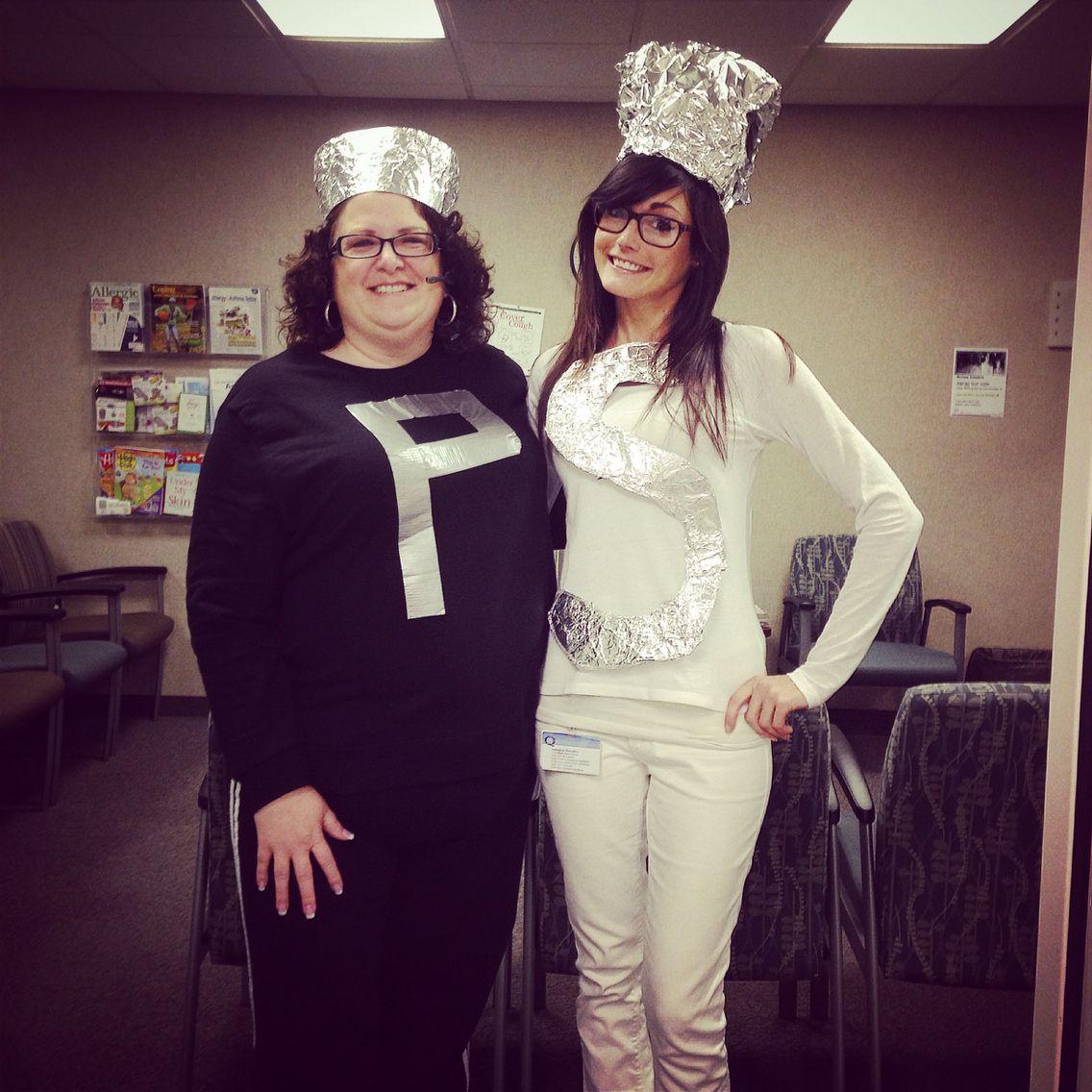 Salt & Pepper Shaker Costumes Holidays Halloween