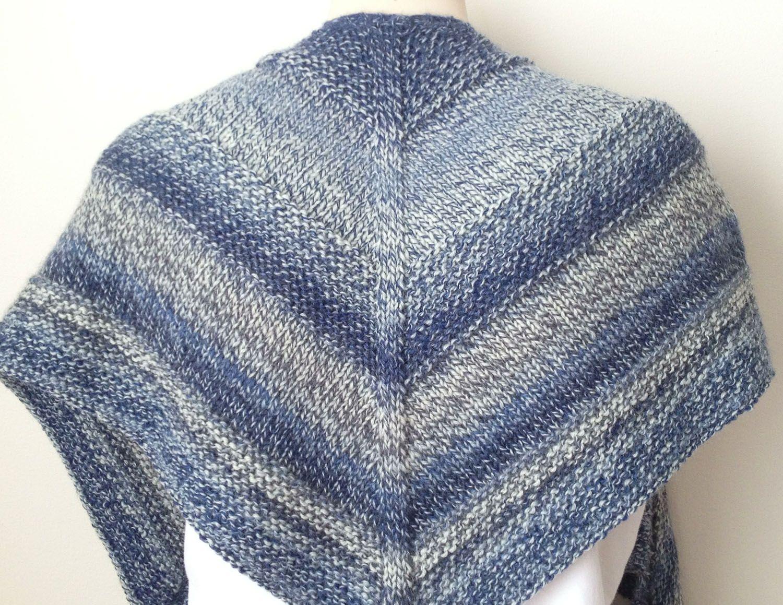 Free Knitting Pattern : Weekender Shawl | Weekender, Shawl and Knitting