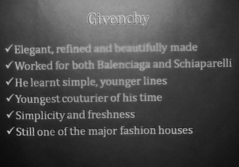 Givenchy ~ 50's