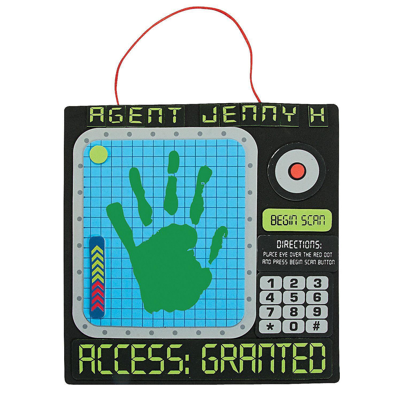 Vbs Preschool Craft Idea Agents Of Truth Handprint Sign Craft Kit
