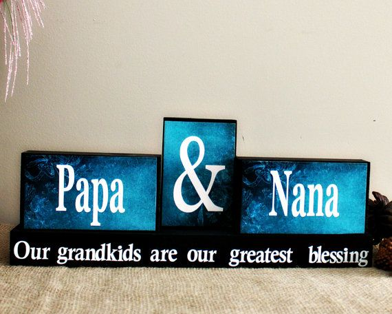 grandparents christmas gift personalized by timelessnotion - Christmas Ideas For Grandparents