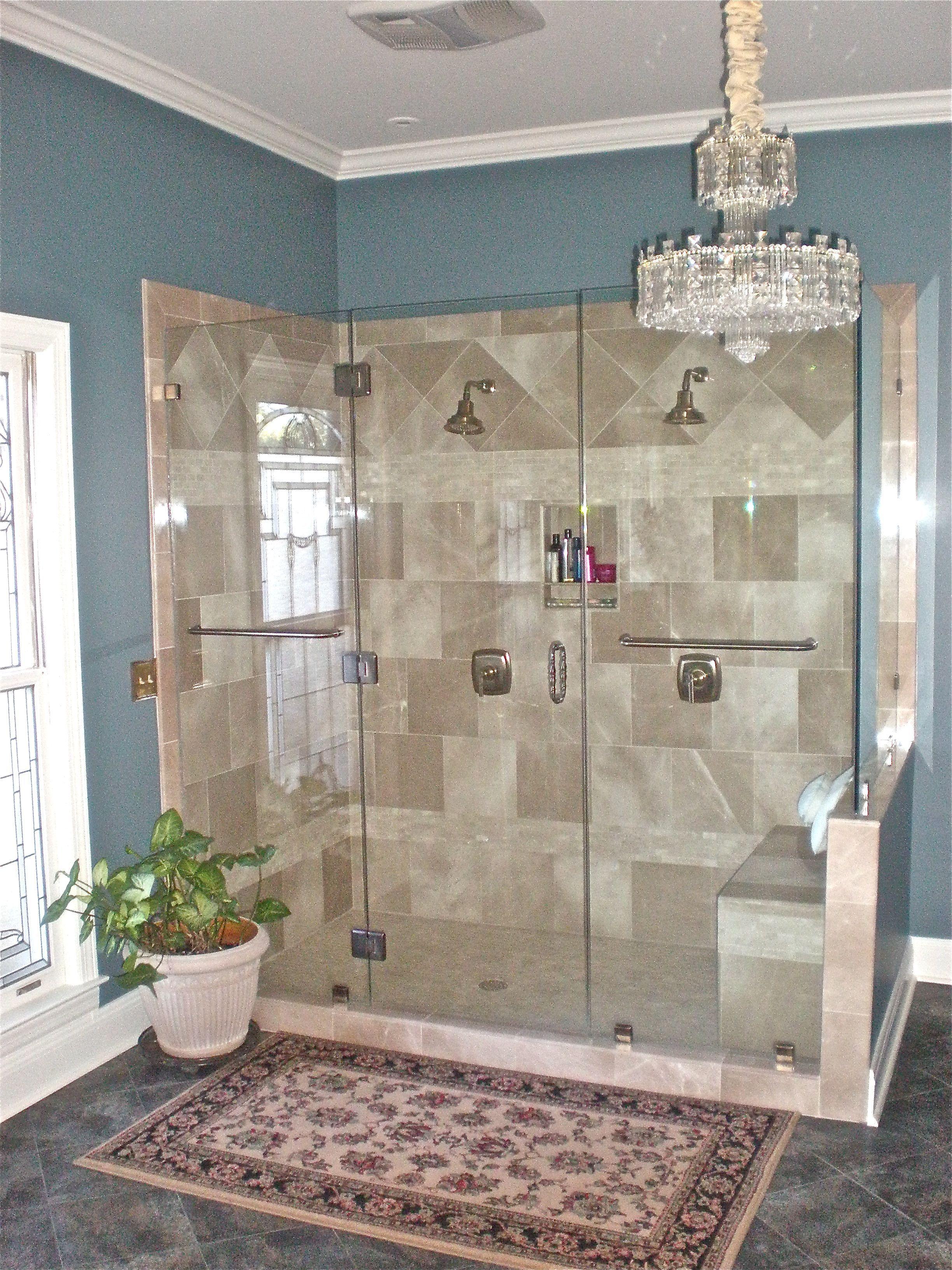 Custom Bathroom Shower Design By Annah Hill Of Nonn S Design Showplace Custom Bathroom Bathroom Shower Design Bathroom