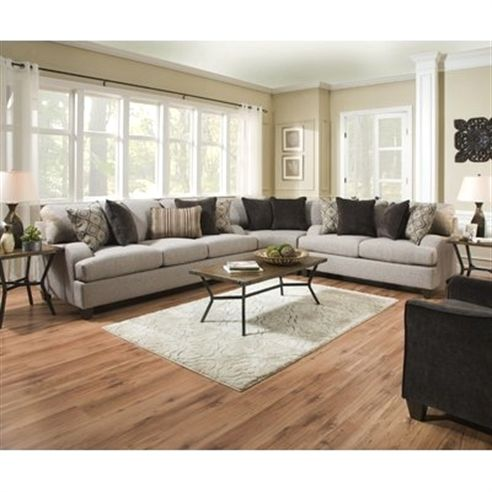 Three Posts Hattiesburg Sterling Reversible Sectional is part of Dream Living Room Sectional -