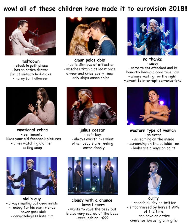 Eurovision 2018 Esc Tagyourself Eurovision Eurovision Song Contest Eurovision 2017