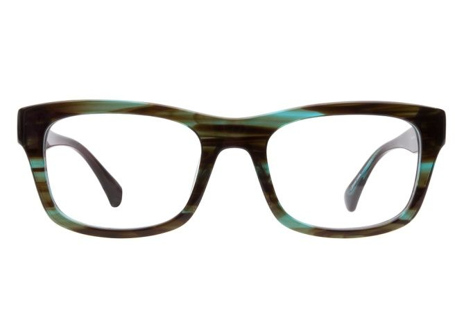 e92f565951e Calvin Klein CK5811 278 Blue Horn eyeglasses are outstandingly bold. This  thick rectangular style boasts a semi-transparent turquoise blue and dark  brown ...