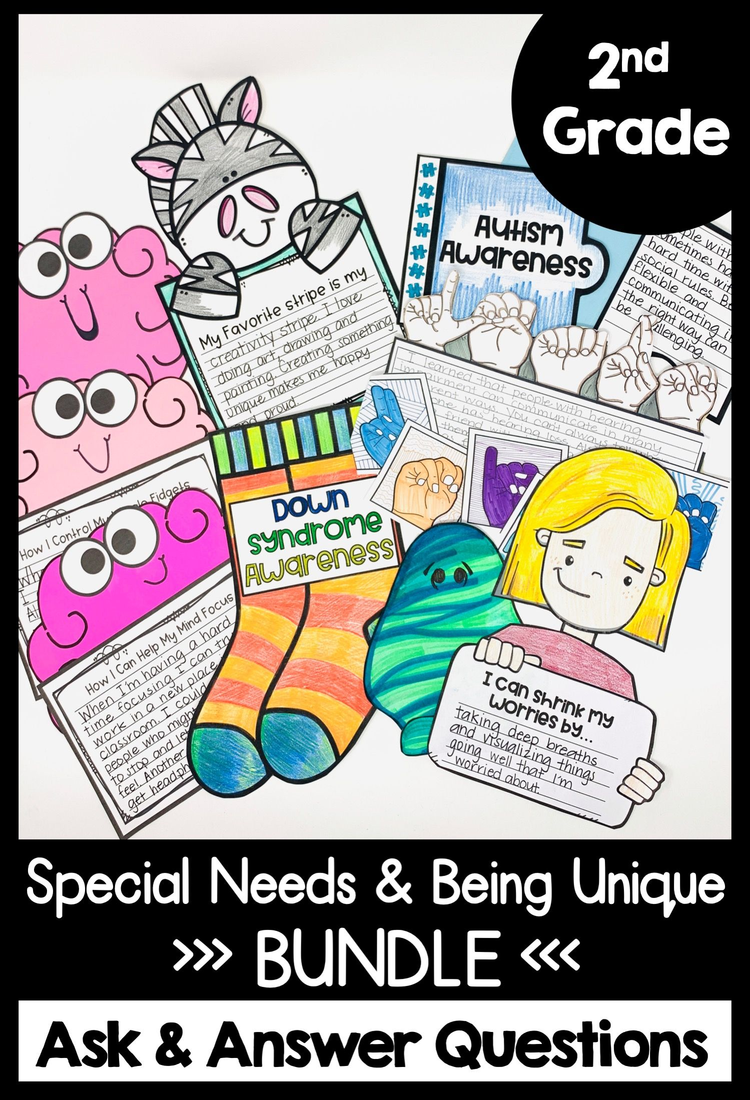 Special Needs And Inclusion Guided Reading Activities