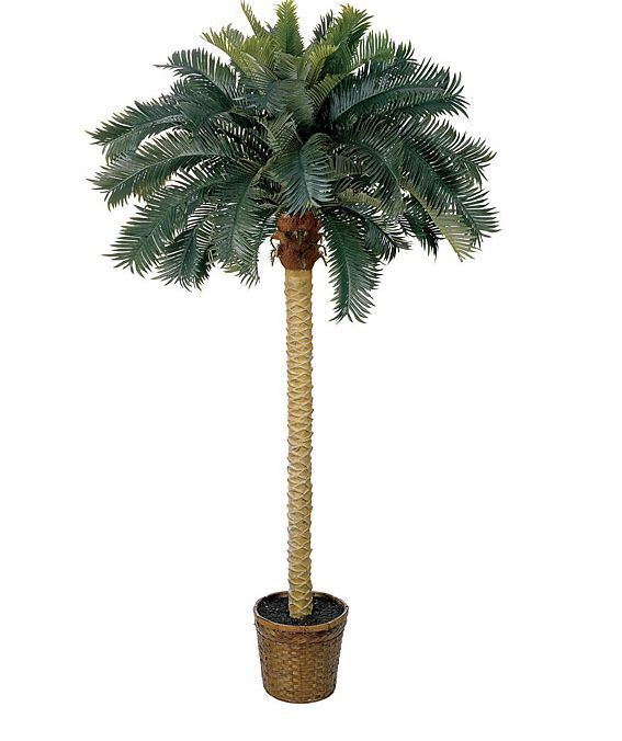 nearly natural 5107 sago palm silk permanent tree indoor outdoor palm and indoor. Black Bedroom Furniture Sets. Home Design Ideas