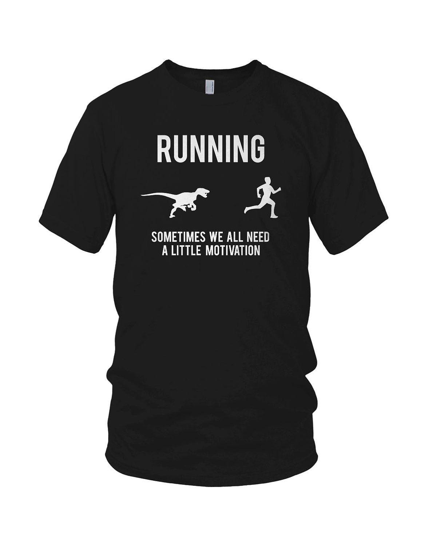 Attacking Dinosaur shirt motivation funny t shirt S-3XL. $14.99, via Etsy.