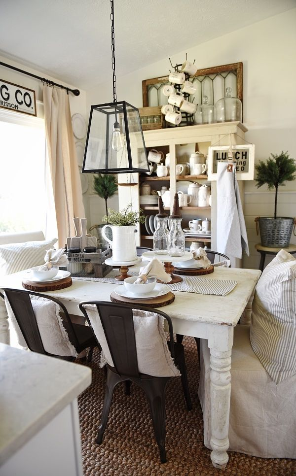 Gable Lane Crates – Farmhouse Style Dining Room | Style, Crates ...