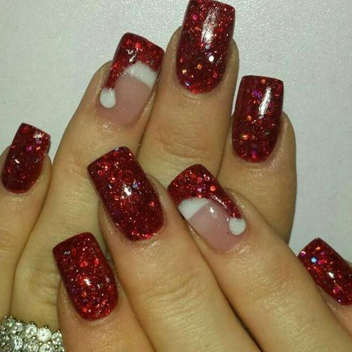 Best Acrylic Christmas Nails 71 Nail Designs