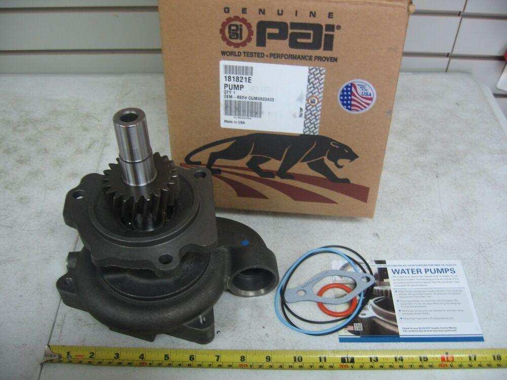eBay #Sponsored Water Pump for Cummins L10E M11 ISM  Excel