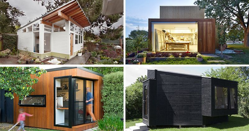 7 examples of backyard buildings that make a great place to escape