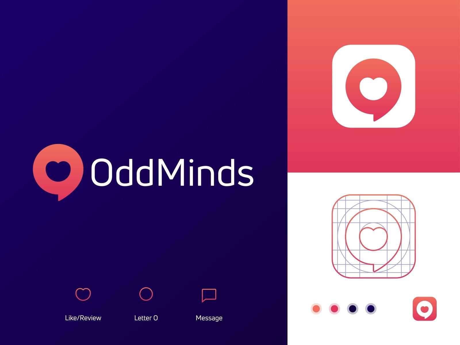Review App Logo And Icon Design In 2020 Logo Design App Logo Icon Design