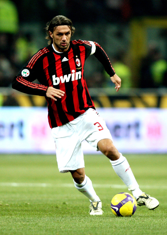 Paolo Maldini Italia Milan I Love Football